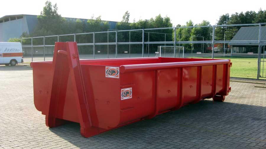 Kleine afvalcontainer huren prijs